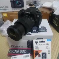 Jual Kamera Canon EOS 80d Kit 18-135usm. Murah