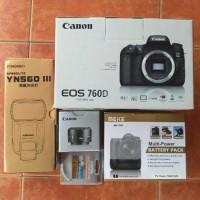 Jual CANON EOS 760D Kit Murah