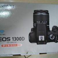 Jual Canon Eos 1300d + Lens 18-135mm, Murah