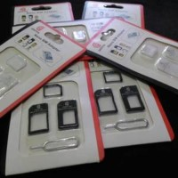 Jual SIM Card Adapter 3 in 1 (Micro, Nano, Mini) Murah