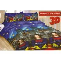 Jual Sprei Bonita single uk 120x200 motif Batman superman Murah