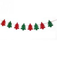 Hiasan  Banner Garland Pohon Dekorasi Natal Gantung Christmas Ornamen