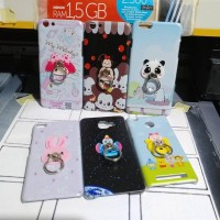 Silicon Casing Softcase Hard disney stand Oppo mirror 5 & mirror 3