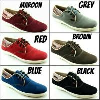 Jual Sepatu kets casual Redknot Maroon/Grey/Red/Brown/Blue/Black Murah