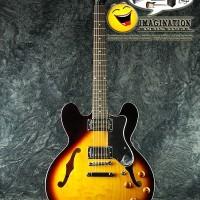 Gitar Elektrik Epiphone Dot Hollow Body - Vintage Sunburst