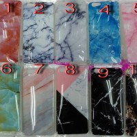 Case Jelly Glossy Marble Samsung J1 Ace, J2, Prime,J3 Pro, J5,Vivo Y53