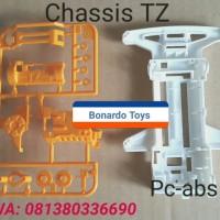 Tamiya Mini 4WD Part - Super TZ Chassis - Loose New Part
