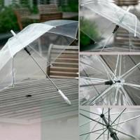 Jual Payung Transparan Bening umbrella transparant Korea Jap Unik Murah
