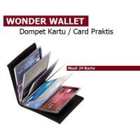 Jual Wonder Wallet - dompet kartu ATM Isi 24 kartu Murah