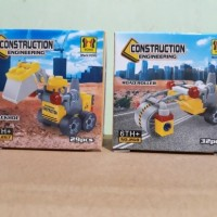 Lego Yoyo Bertoyindo SY mobil konstruksi 2pcs