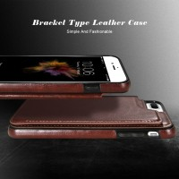 iPhone 6 6s  Premium Wallet Cover Flip Leather Case Dompet Hp import
