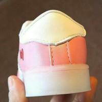 Jual Sepatu kets LED HK Pink Led Shoes Hello Kitty Tali 21-25   Murah