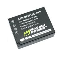 Wasabi Power Baterai Fujifilm NP-W126, X-Pro, XT1, XT10, X-A, X-E, X-M