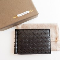 Jual BOTTEGA VENETA BV MONEY CLIP BLACK DOMPET REPLICA MIRROR WALLET KARTU Murah