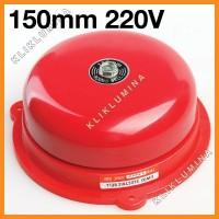 Round Bell 220v 150mm 6
