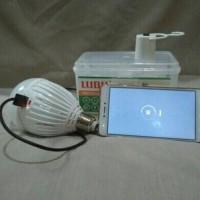 Lampu LED Luby emergency 18w 18 watt fungsi powerbank 2 baterai