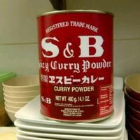 S&B Japanese Spicy Curry Powder Bumbu Bubuk Kari Jepang Import