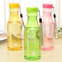Jual Botol Minum Unik BPA Free Anti Tumpah Botol / Tempat Minum Bentuk Soda Murah