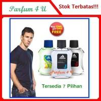 TERLARIS [Buy 1 Get 1] Parfum Ori Adidas Pria EDT 100 ml