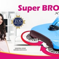 Super BROOM X-TRA Bolde Original Bolde Sapu Ajaib Sapu Otomatis - BIRU
