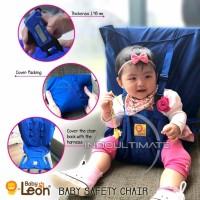 Pengaman Duduk Bayi Universal Kursi BABY LEON Portable Baby blue