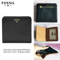 Fossil Sydney Bifold Black