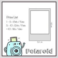 Jual Jasa cetak foto polaroid / instax Murah