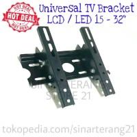 """MURAH Universal TV Braket 15-32"""" LCD LED MAXX Bracket Breket Dinding"""