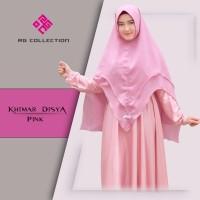 hijab terbaru polos syari khimar disya anggun grosir hijab syari