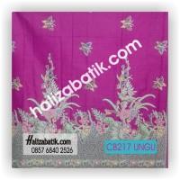 Motif Kain Batik, Batik Modern, Gambar Kain Batik, CB217 UNGU