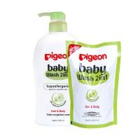 harga Pigeon Baby Wash Chamomile 700ml Pump Gratis 600ml Refill / Sabun Bayi Tokopedia.com