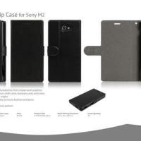 Jual SALE!!! AHHA KIM Flip Case Sony Xperia M2 - M2 Dual Original - Steal   Murah