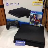Jual PS4 Slim Paket PES 2018 plus 2stick Murah
