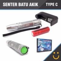 Jual Senter Batu Akik / Senter Batu Cincin CREE LED Type C [ PALING MURAH ] Murah