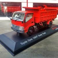 Miniatur truk Toyota Dyna 130HT Dump Truck diecast original murah