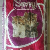 Jual Makanan Anak Kucing SAVVY KITTEN 10 KG Murah