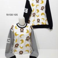 Jual sweater babymilo banana wanita/sweater baby milo cowok pria Murah