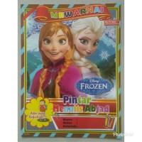Buku Mewarnai Anak Karakter Frozen, Buku Aktifitas Anak TK PAUD