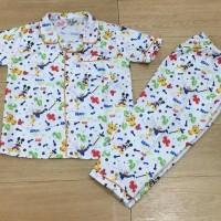 Jual Baju tidur anak piyama anak motif Donal white Murah