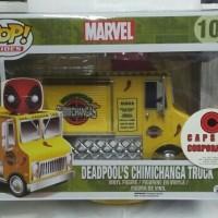 Jual POP Funko Deadpool's Chimichanga Truck with Deadpool (10) Murah