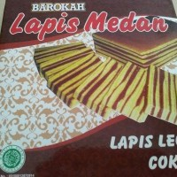 Jual Lapis Legit Coklat - Lapis Medan Murah