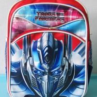 Tas Ransel Backpack Sekolah Anak PG / PAUD OPTIMUS PRIME
