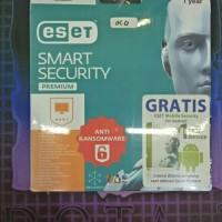 Jual Smart Security Premium Eset 3user - 1 Year Original Murah