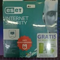 Jual Internet Security Eset 3user - 1Year Original Murah