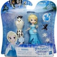Jual Frozen Little Kingdom Elsa Olaf Figure Doll Hasbro ORIGINAL MURAH Murah