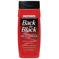 mothers back to black trim and plastic restore penghitam plastik