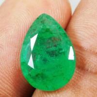 Jual Batu Permata Natural Emerald / Zambrud Colombian 4.70 Carat + Memo Murah