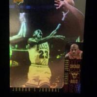 Jual Upper deck 1996 insert card Michael Jordan journal - J2(kartu basket) Murah