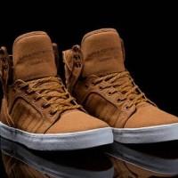 6eb640c1ec Skytop Muska 001 - Golden Oak/Pumpkin White (Supra Footwear)