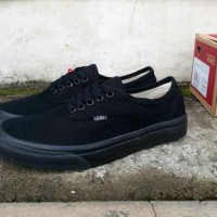 Sepatu Vans Authentic Full Black / Hitam Murah